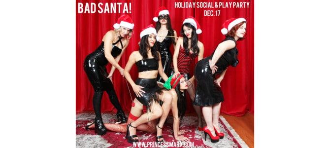 Dec 17: Bad Santa! Holiday Social & Play Party @ Chi Temple