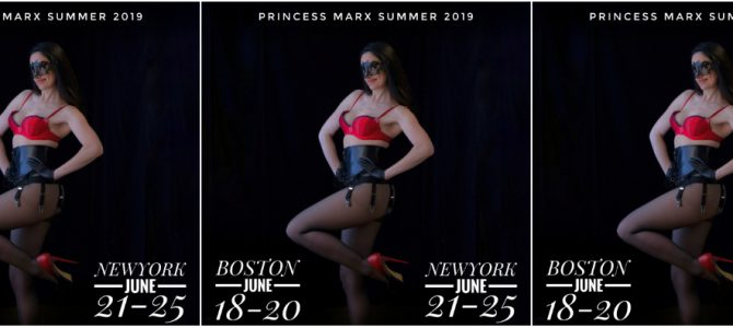 BOSTON June 18-20, NEW YORK CITY June 21-25 + PROVINCETOWN + HANOVER, NH