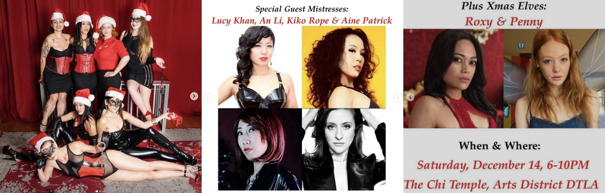 Chi Temple Holiday Multi-Mistress Play Party